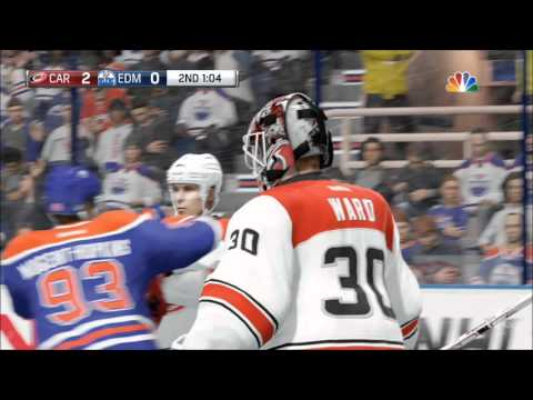 NHL 16 - Carolina Hurricanes vs Edmonton Oilers Gameplay (XboxONE HD) [1080p60FPS]