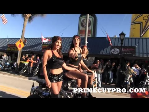 Daytona Bike Week 2014 - Main Street