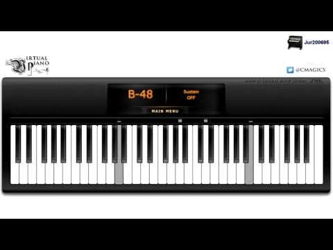 Virtual Piano - Criminal Minds Coda