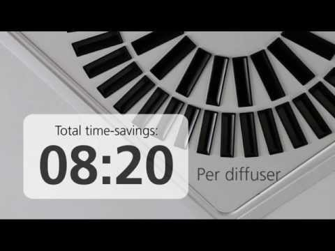 VIREO Air Diffusers - Easier Installation