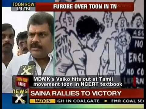 Cartoon on anti-Hindi agitation raises storm in Tamil Nadu - NewsX
