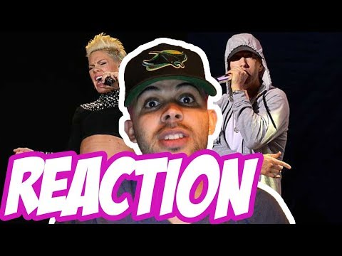 Pink Feat. Eminem - Revenge REACTION