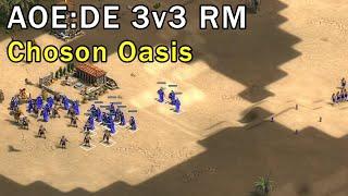 Age of Empires: Definitive Edition - 3v3 RM Choson Oasis - eartahhj