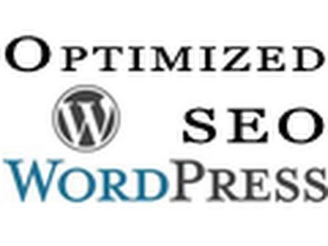 0 Optimized SEO for Wordpress
