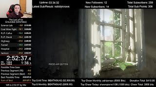 The Last of Us Speedrun World Record! (2:52:37) on Grounded mode (Glitchless)