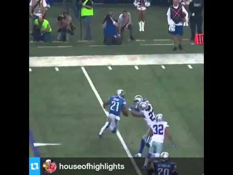 Reggie Bush touchdown Vs Cowboys
