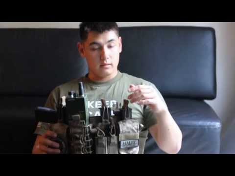 US Marine 0311 Reviews Haley Strategic D3 Chest Rig Pt 1