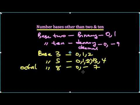 01 Number Base other than Ten
