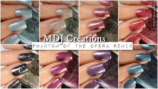 Swatches || Phantom of the Opera REMIX by MDJ Creations | Rikki's Nails