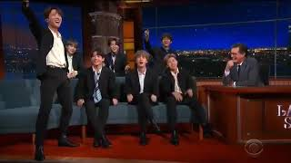 The Late Show- BTS 'Hey Jude'
