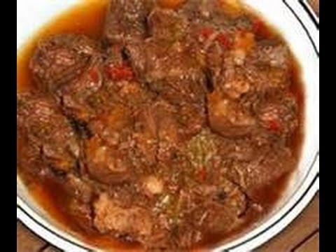 RECETA DE COCINA: Carne Guisada/ Fricasé de carne de res