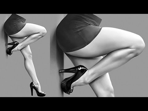 How to Paint Sexy Legs with Heels - Airbrushing Tutorial