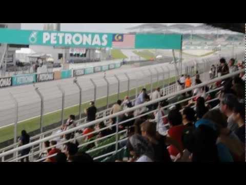 F1 Malaysian Grand Prix 2012 - Practice 3