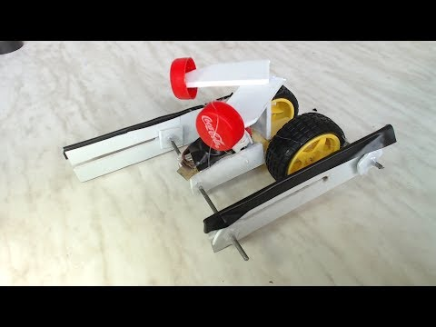 how to make a robot-mini walking robot at home