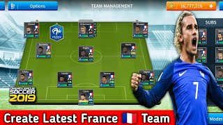 How To Create France Team In Dream League Soccer 2019