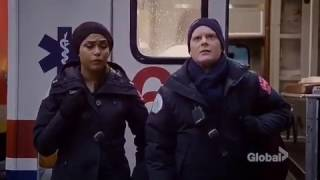 Chicago fire season 5 episode 14 Gabby and Chout