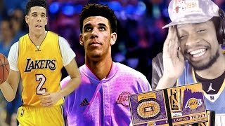 GUESS I GOTTA COP SEASON TICKETS! LONZO BALL DAD SAYS HE'S PLAYING FOR THE LAKERS REACTION!