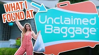 thrift with me at an UNCLAIMED BAGGAGE CENTER! + HAUL