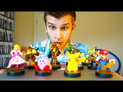 Ninteno Amiibo Video Game Figures
