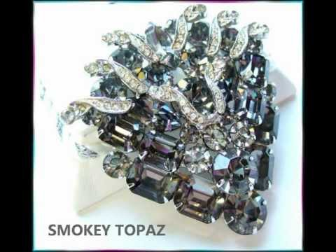 Designer Vintage Jewelry- Weiss Brooches and Pins http://www.greatvintagejewelry.com