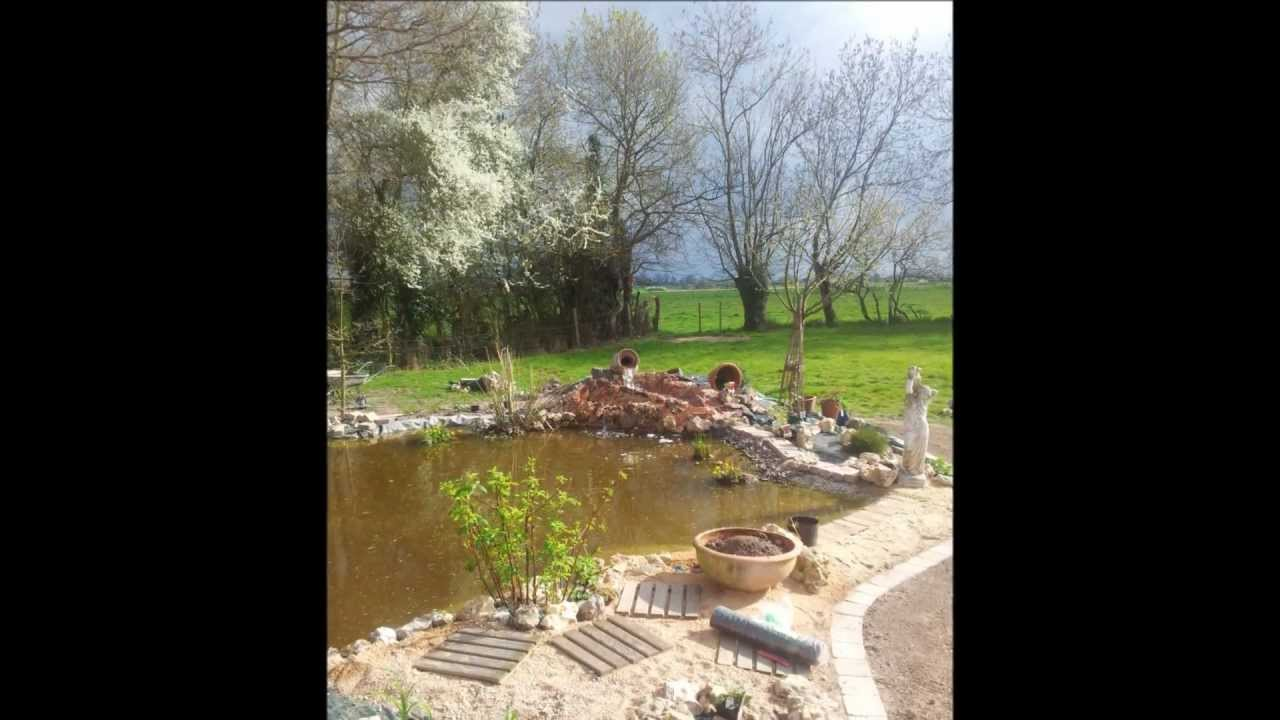Bassin de jardin avec cascade - Creer un bassin avec cascade ...