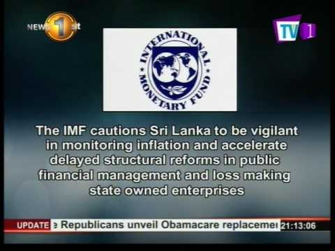 the imf cautions sri|eng