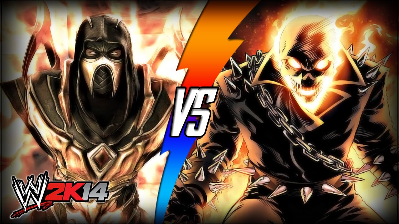 WWE 2K14 S3E10 - Scorpion VS Ghost Rider (Inferno Match ...