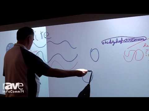 InfoComm 2014: Hitachi Demonstrates CP-TW2503 Interactive Projector