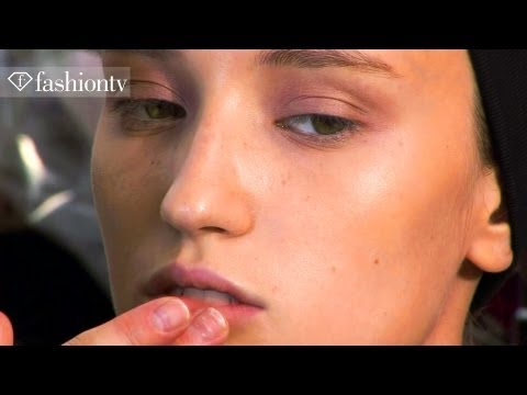 Hair & Makeup - Carven Backstage - Spring 2012 Paris Fashion Week   Fashiontv - Ftv video