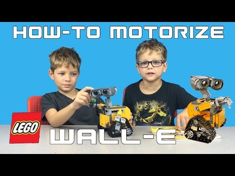 HOW TO Motorize Lego Ideas Wall-E #21303 DIY