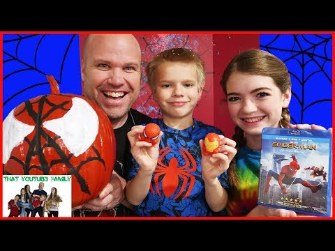 FAMILY MOVIE NIGHT! Spiderman Homecoming / That YouTub3 Family thumbnail