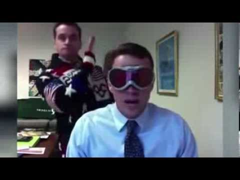 Principal Raps About Snow Day With 'ice Ice Baby' Instrumental video