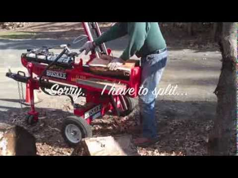 Huskee Wood Splitter With Log Lift