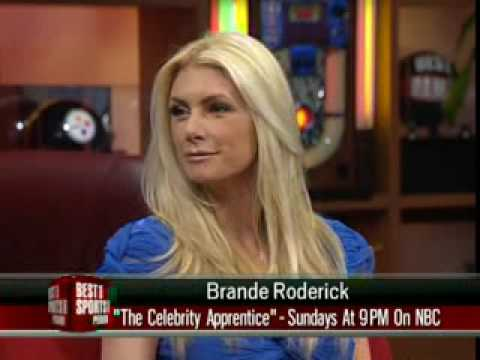 Brande Roderick Best Damn Sports Show 3 23 09 Financially Hung