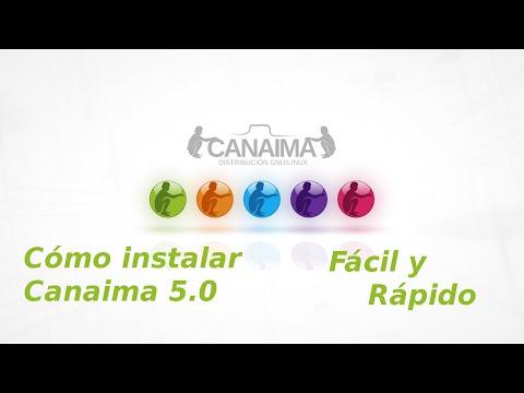 Como instalar Canaima 5.0
