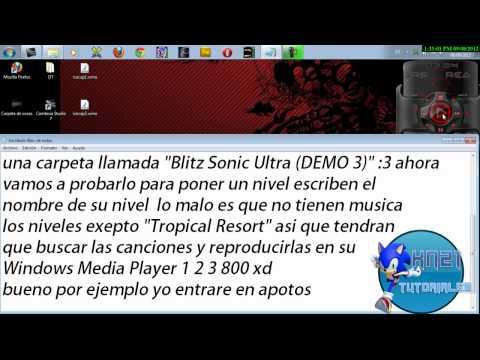 Tuto - ¿Como Descargar , Instalar y Jugar Sonic Blitz Ultra? HD