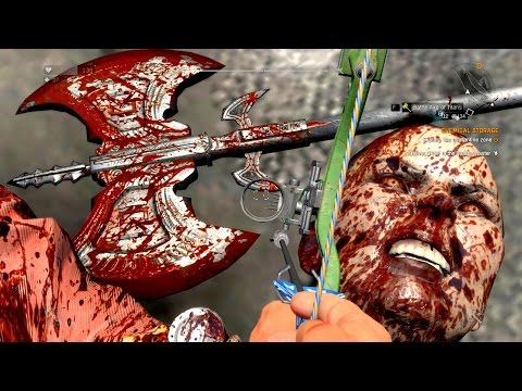 Dying Light Custom GOLD Weapons Rampage Part 4 Ultra GTX 980