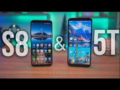 КТО В ПРОЛЕТЕ? OnePlus 5T или Samsung S8? СРАВНЕНИЕ