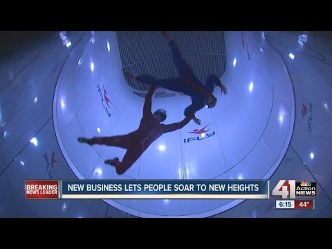Indoor skydiving iFLY opens in Overland Park
