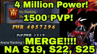 GPC Server Merge! 4 Million Power! 1500 PVP! GPC Casual Gameplay. THEDONGPC