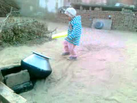 haryanvi funny clip kid playing