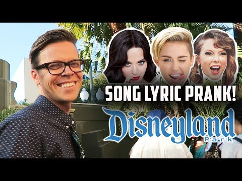 SONG Music PRANK ON PEOPLE IN LINE AT DISNEY LAND! (DAY 201)