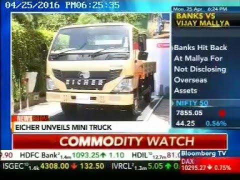 Mr. Shyam Maller, Senior VP, VE Commercial Vehicles on Bloomberg TV India