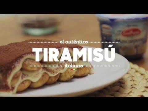 Receta del Tiramisú Italiano con Mascarpone Galbani (en 1 minuto)