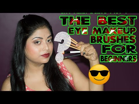 Top 5 Essential Eye Makeup Brushes For Beginners | PAC, Colorbar And More | Indian Makeup