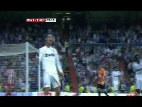 Cristiano Ronaldo 40th Goal vs Almeria (21 May 2011)La liga