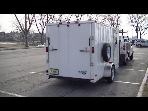 Bug Out Vehicle - Cargo Trailer Stealth Camper - Part 1