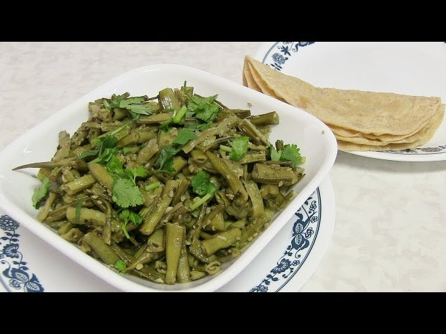 sddefault Guvar Dhokli   Cluster beans Curry   By Bhavana
