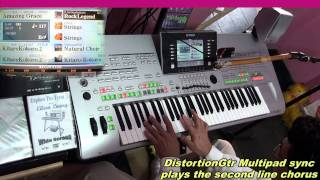 Kitaro-KOKORO (Heart) - Played Live on Tyros3