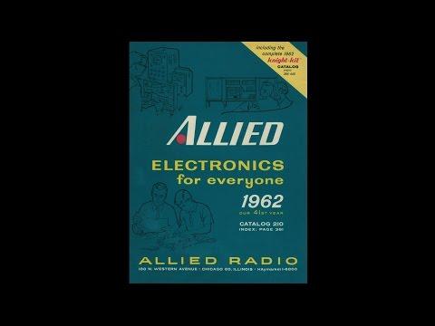 1962 Allied Radio - Electronics for Everyone Catalog #210